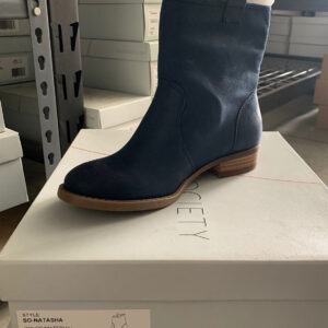 New Items Sole Society Blue Suede Shortie Boot