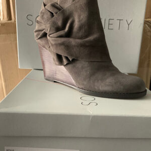 New Items Sole Society Tan Suede Wedge Boot