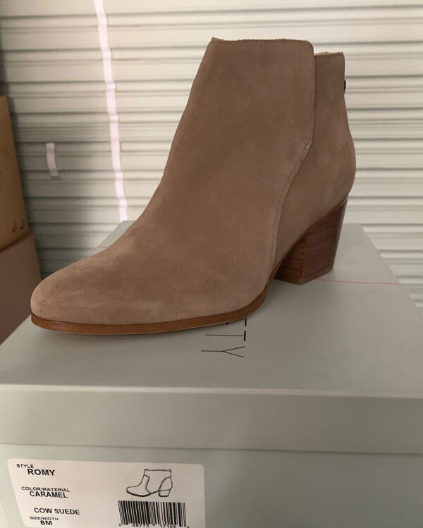 New Items Sole Society Classic Tan Suede Ankle Boot
