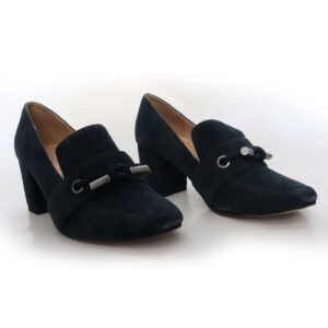 Sole Society Navy Suede Heeled Pump New Items