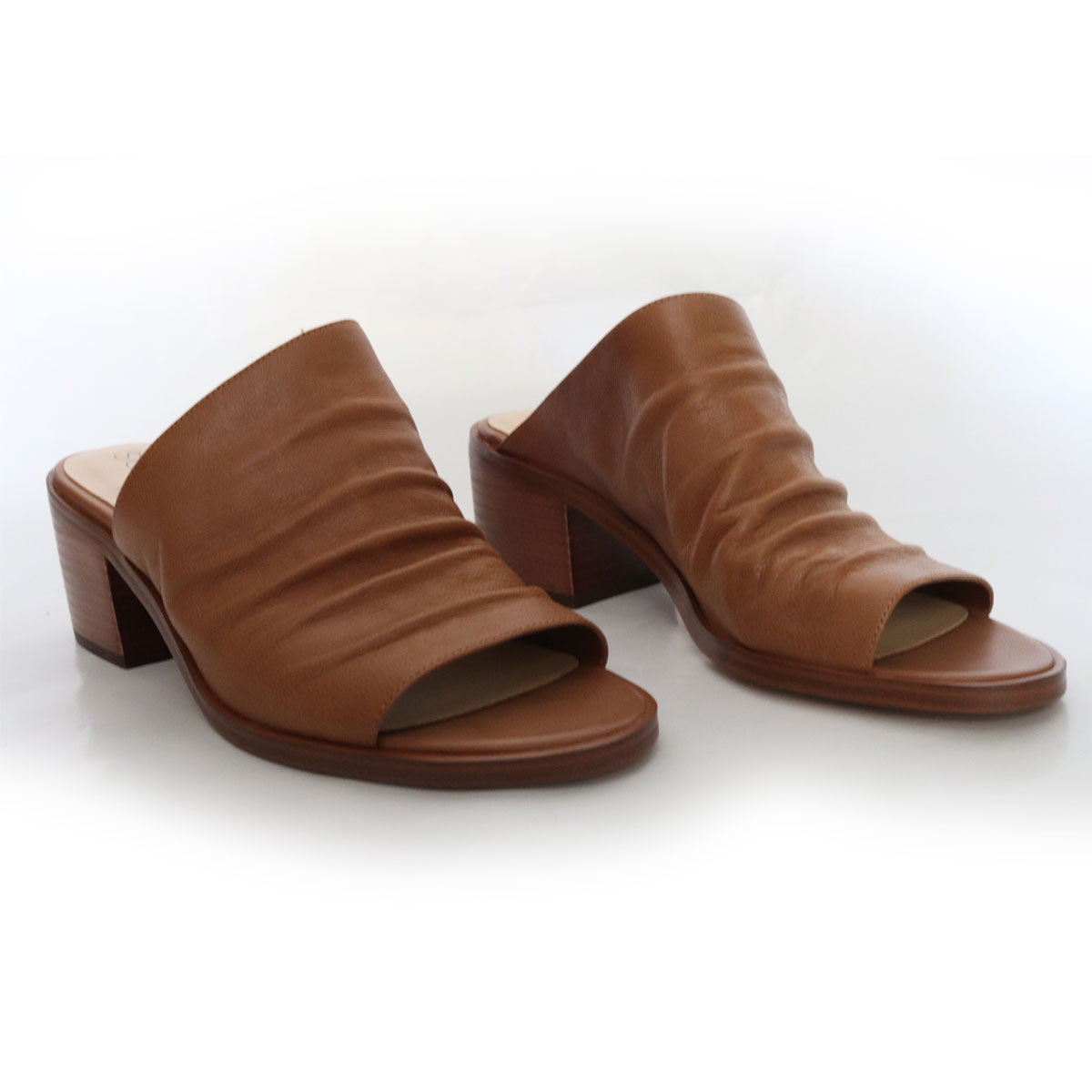 Cognac Open-Toe Mule New Items