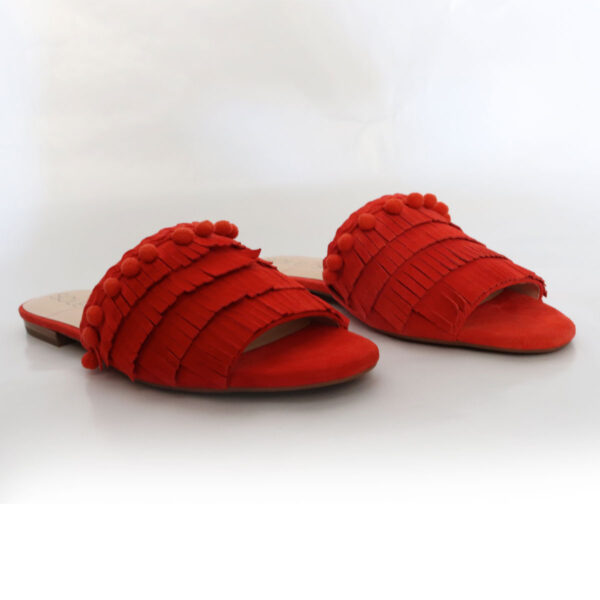 Sole Society Red Suede Mule New Items