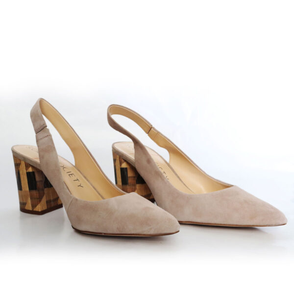 Sole Society Slingback Tan Suede Pump New Items
