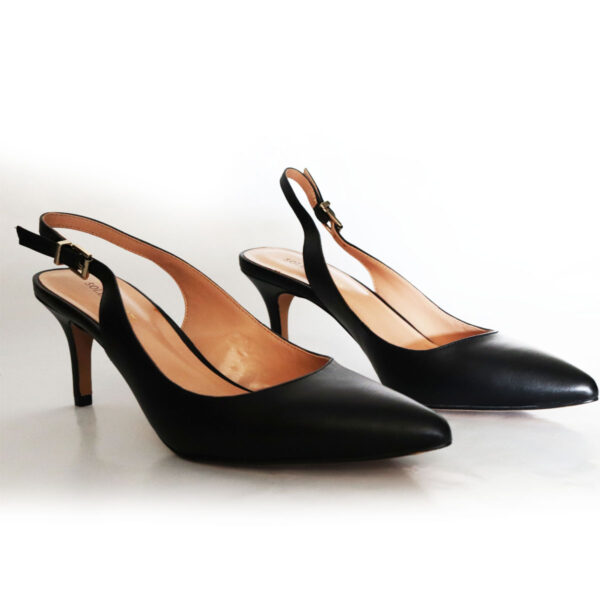 Sole Society Black Leather Pumps New Items