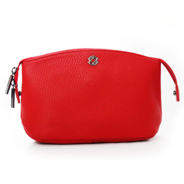 Purses Red Leather Clutch