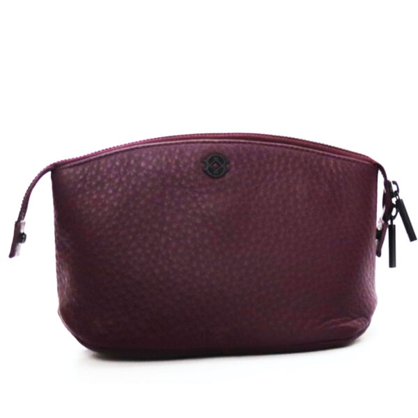 Purses Burgundy Leather Clutch