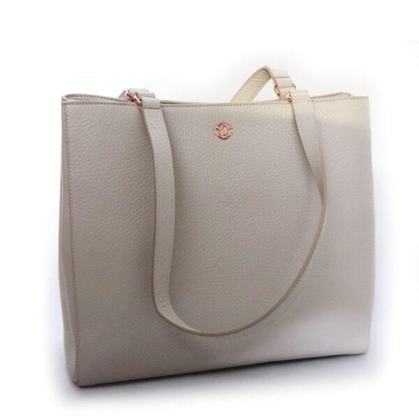 Purses Off-White Leather Bag
