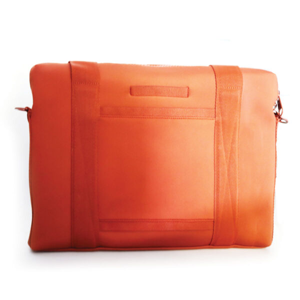 Purses Orange Microfiber Case