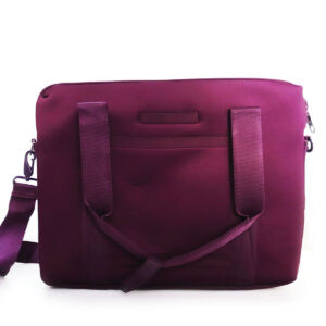Purses Purple Microfiber Handbag