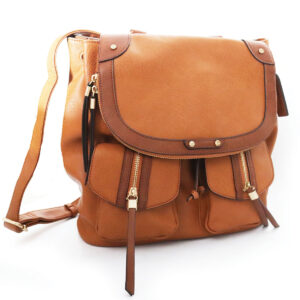 Purses Leather Bag with Front Pockets