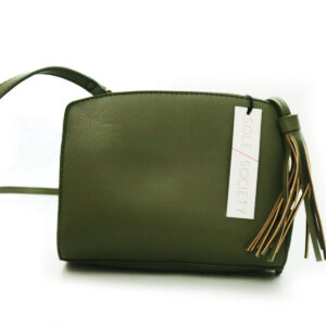 Purses Green Leather Clutch