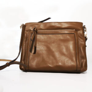 Purses Leather Bag with Zipper Pocket